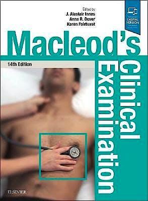 Portada del libro 9780702069932 Macleod's Clinical Examination (Print and Online)