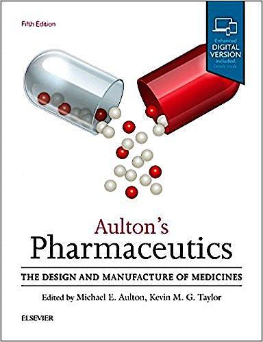 Portada del libro 9780702070051 Aulton's Pharmaceutics. The Design and Manufacture of Medicines