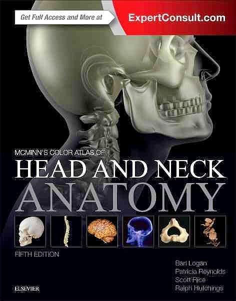 Portada del libro 9780702070174 McMinn's Color Atlas of Head and Neck Anatomy (Online and Print)