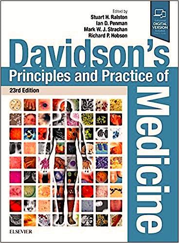 Portada del libro 9780702070280 Davidson's Principles and Practice of Medicine (Print and Online)