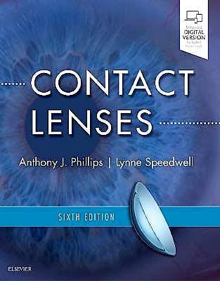 Portada del libro 9780702071683 Contact Lenses (Print and Online)