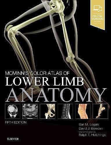 Portada del libro 9780702072185 McMinn's Color Atlas of Lower Limb Anatomy (Print and Online)