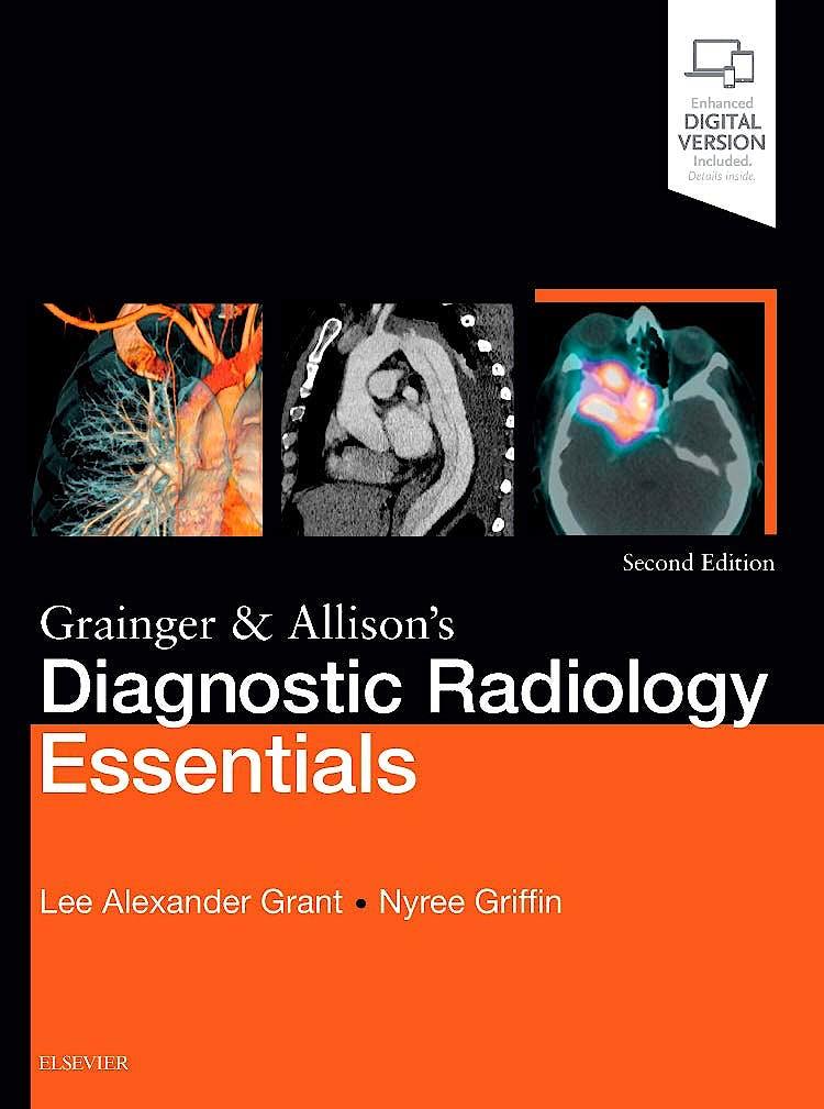 Portada del libro 9780702073113 Grainger and Allison's Diagnostic Radiology Essentials (Print and Online)