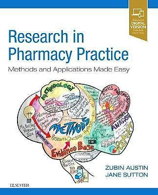 Portada del libro 9780702074264 Research Methods in Pharmacy Practice. Methods and Applications Made Easy (Print and Online)