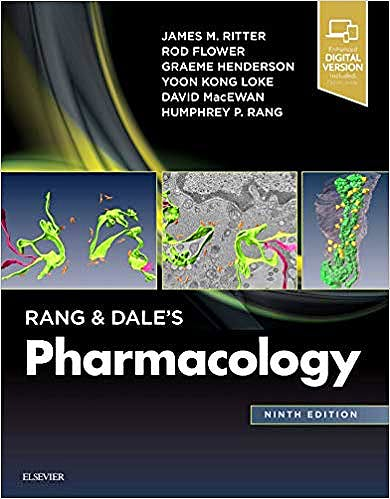 Portada del libro 9780702074486 Rang and Dale's Pharmacology (Print and Online)