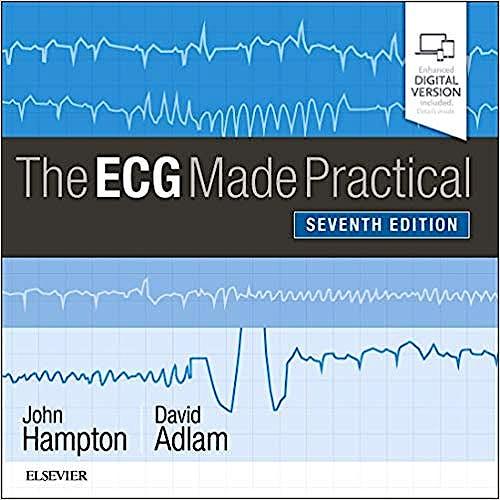 Portada del libro 9780702074608 The ECG Made Practical