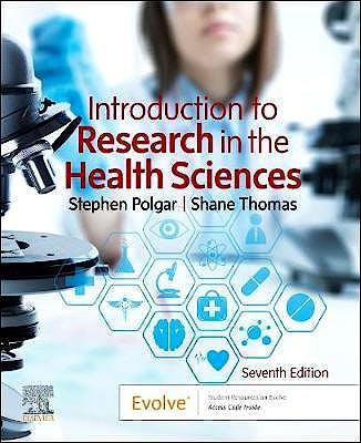 Portada del libro 9780702074936 Introduction to Research in the Health Sciences