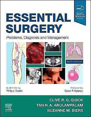 Portada del libro 9780702076329 Essential Surgery. Problems, Diagnosis and Management (International Edition)