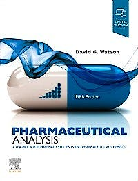 Portada del libro 9780702078071 Pharmaceutical Analysis. A Textbook for Pharmacy Students and Pharmaceutical Chemists
