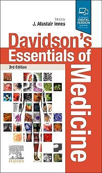 Portada del libro 9780702078750 Davidson's Essentials of Medicine