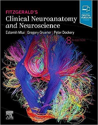 Portada del libro 9780702079092 Fitzgerald's Clinical Neuroanatomy and Neuroscience