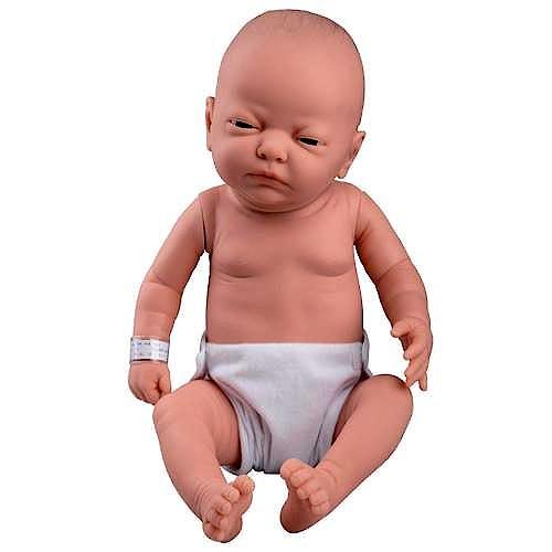 Modelo Básico de Cuidado del Bebé (Caucasiano Femenino)