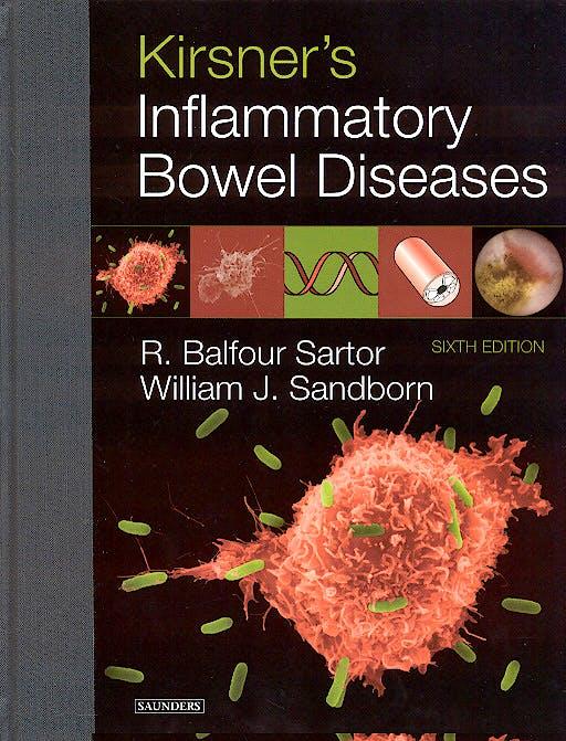Portada del libro 9780721600017 Kirsner´s Inflammatory Bowel Diseases