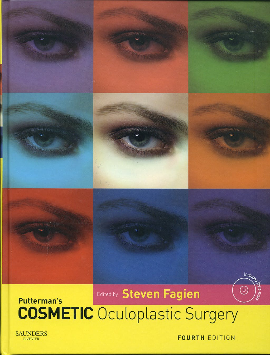 Portada del libro 9780721602547 Putterman's Cosmetic Oculoplastic Surgery + Dvd-Rom