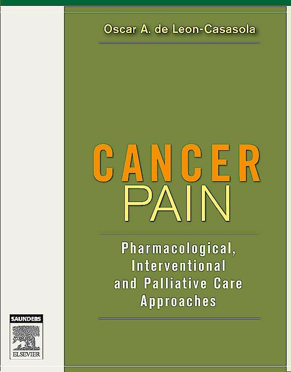 Portada del libro 9780721602615 Cancer Pain