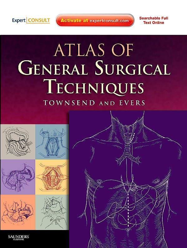 Portada del libro 9780721603988 Atlas of General Surgical Techniques
