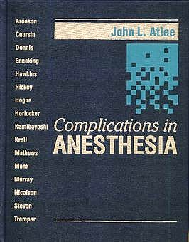 Portada del libro 9780721671611 Complications in Anesthesia