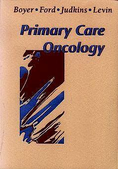 Portada del libro 9780721673165 Primary Care Oncology