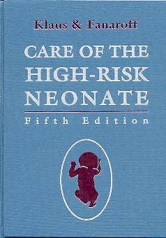 Portada del libro 9780721677293 Care of the High-Risk Neonate