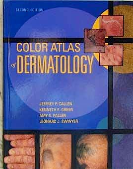 Portada del libro 9780721682563 Color Atlas of Dermatology