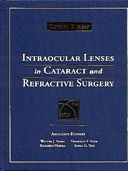Portada del libro 9780721686998 Intraocular Lenses in Cataract and Refractive Surgery
