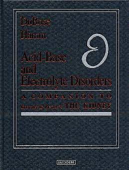 Portada del libro 9780721689562 Acid-Base and Electrolyte Disorders
