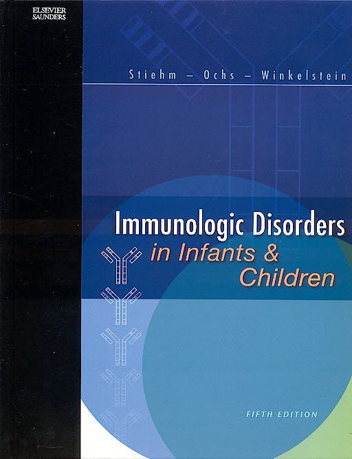 Portada del libro 9780721689647 Inmunologic Disorders in Infants and Children