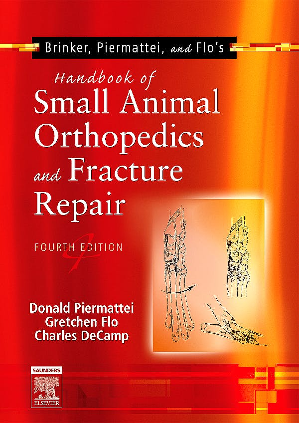 Portada del libro 9780721692142 Brinker, Piermattei and Flo's Handbook of Small Animal Orthopedics and Fracture Repair