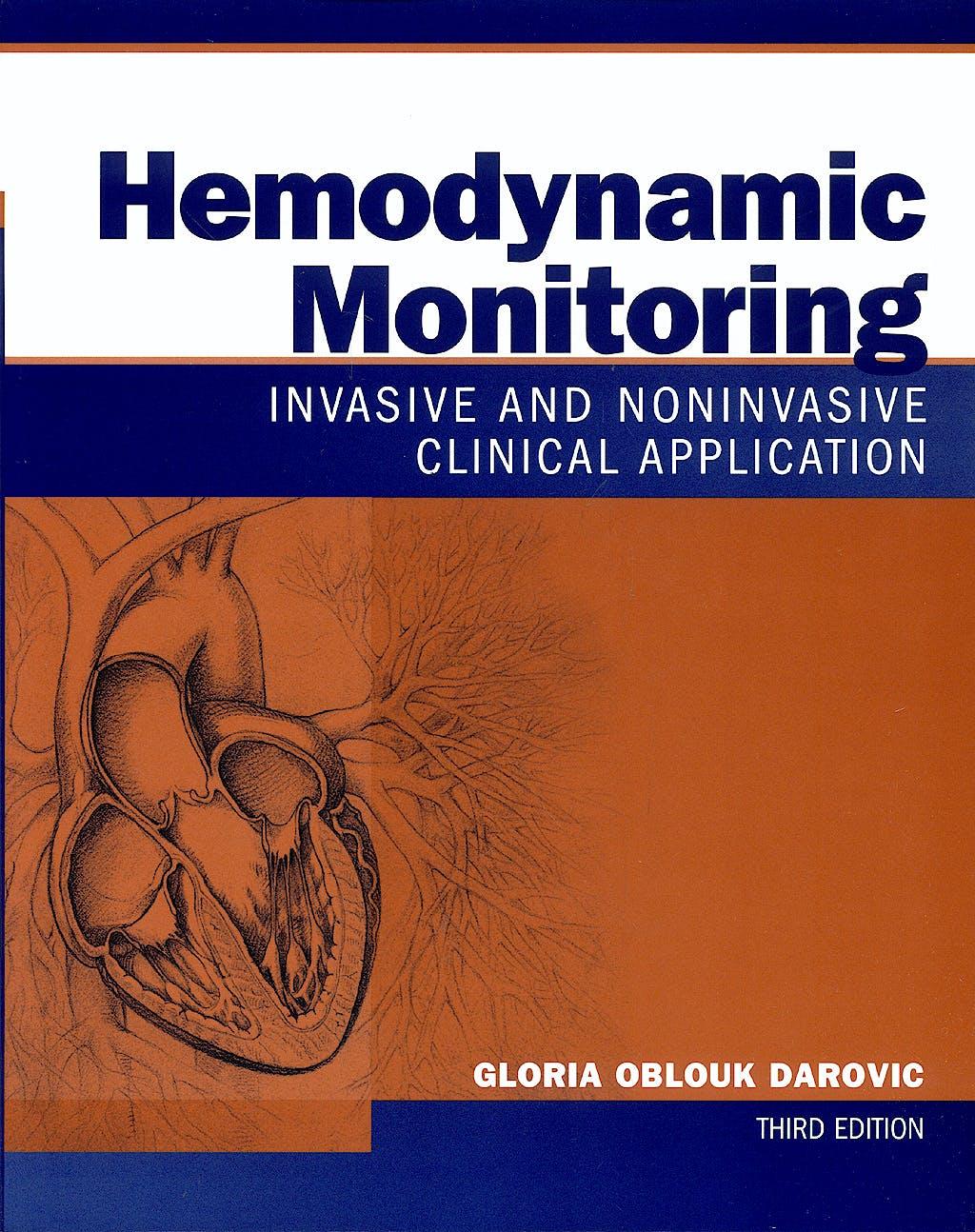 Portada del libro 9780721692937 Hemodynamic Monitoring: Invasive and Noninvasive Clinical Application
