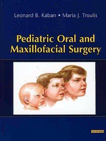 Portada del libro 9780721696911 Pediatric Oral and Maxillofacial Surgery