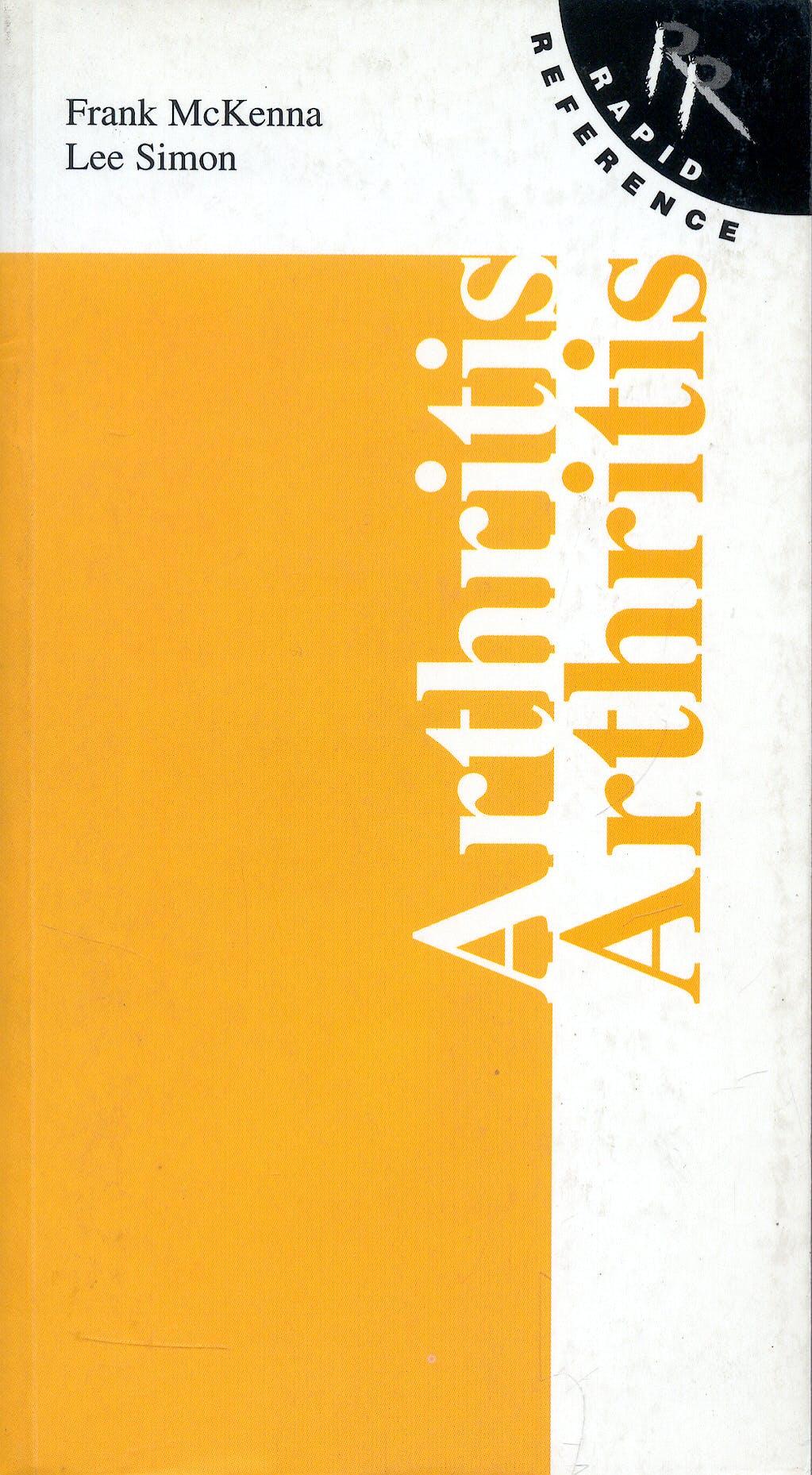 Portada del libro 9780723433149 Rapid Reference to Arthritis