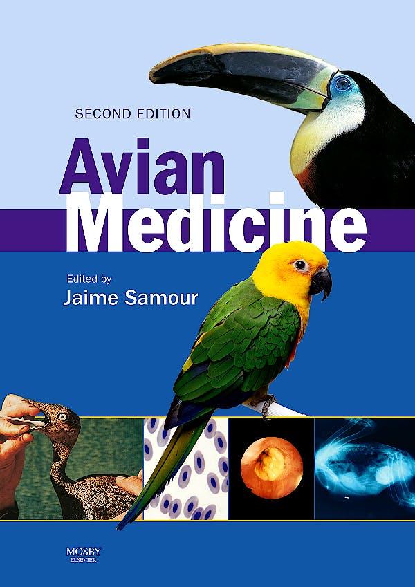 Portada del libro 9780723434016 Avian Medicine