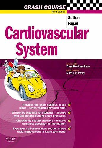 Portada del libro 9780723434306 Crash Course: Cardiovascular System