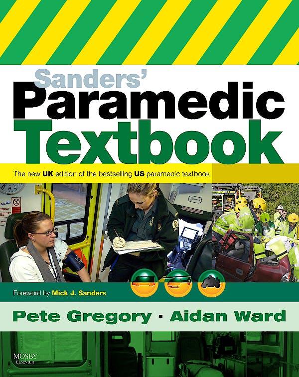 Portada del libro 9780723434436 Sanders' Paramedic Textbook