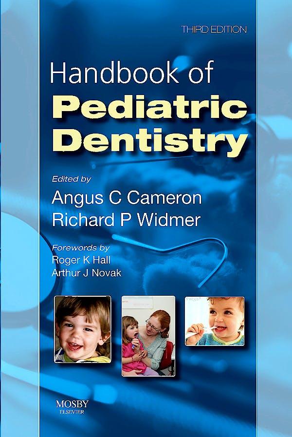 Portada del libro 9780723434528 Handbook of Pediatric Dentistry