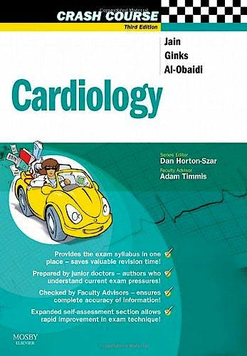 Portada del libro 9780723434641 Crash Course: Cardiology