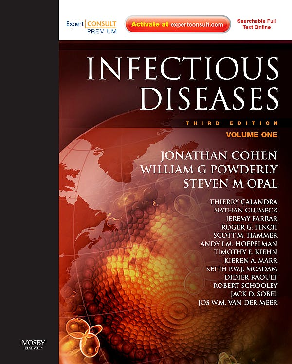 Portada del libro 9780723435037 Infectious Diseases Premium Edition, 2 Vols. (Online and Print)