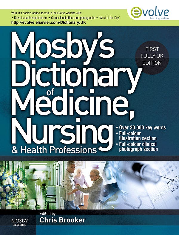 Portada del libro 9780723435044 Mosby's Dictionary of Medicine, Nursing and Health Professions (Uk Edition)