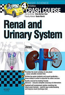 Portada del libro 9780723436294 Crash Course: Renal and Urinary System