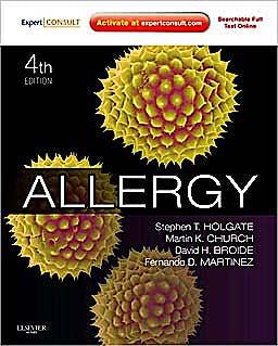 Portada del libro 9780723436584 Allergy (Online and Print)