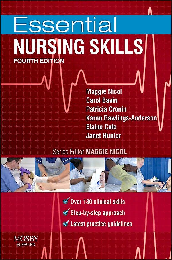Portada del libro 9780723436942 Essential Nursing Skills