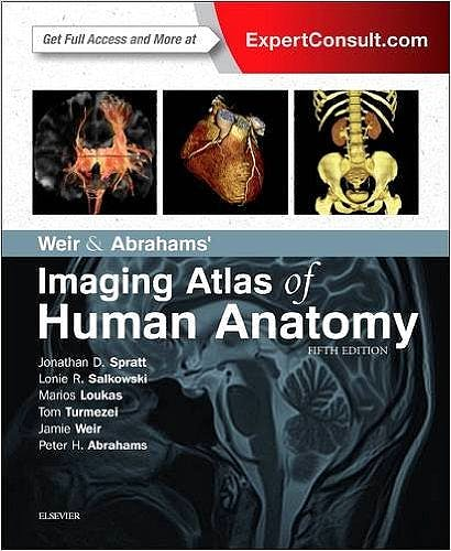 Portada del libro 9780723438267 Weir and Abrahams' Imaging Atlas of Human Anatomy (Online and Print)