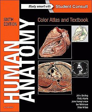 Portada del libro 9780723438274 Human Anatomy. Color Atlas and Textbook