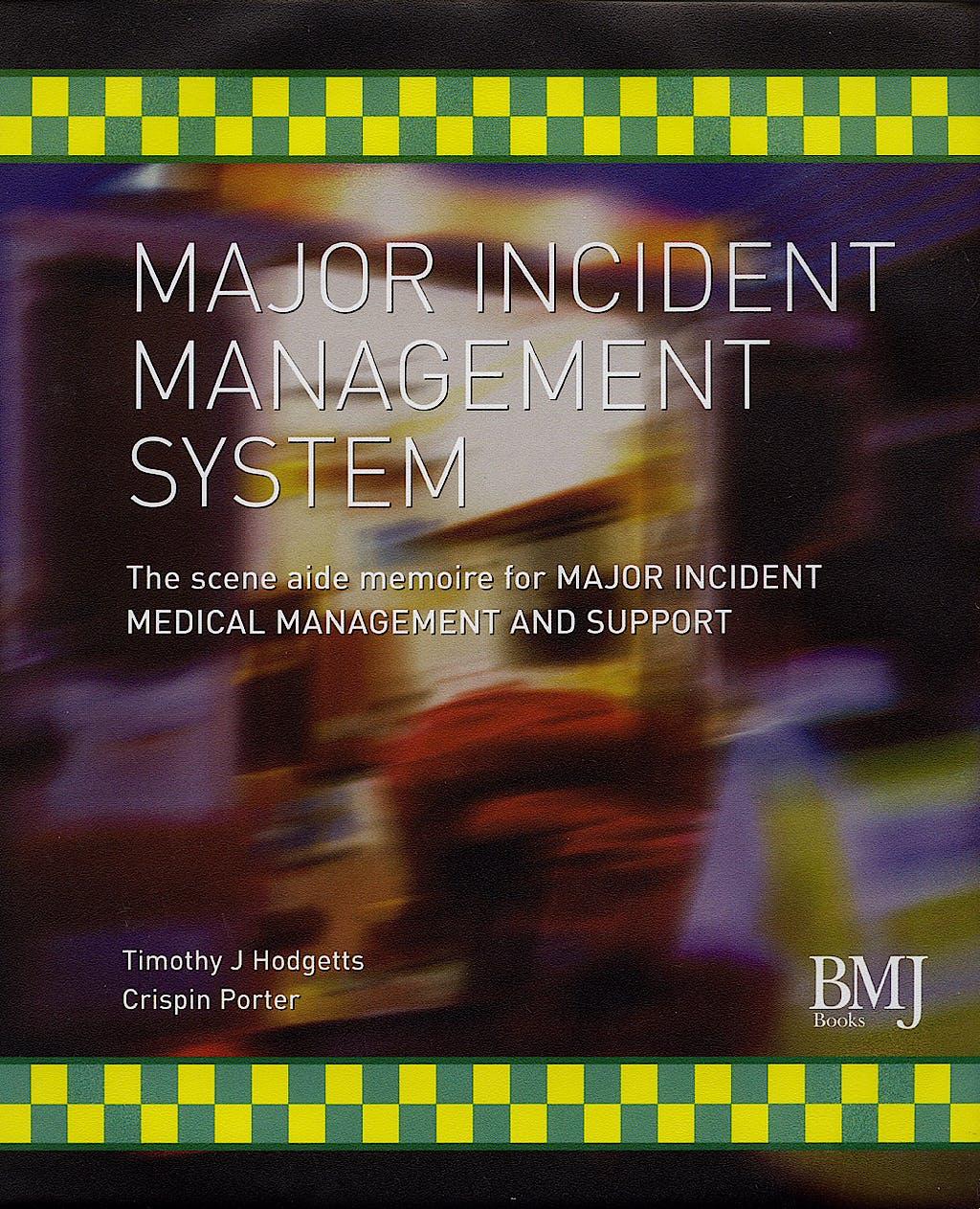 Portada del libro 9780727916143 Major Incident Management System (Mims)