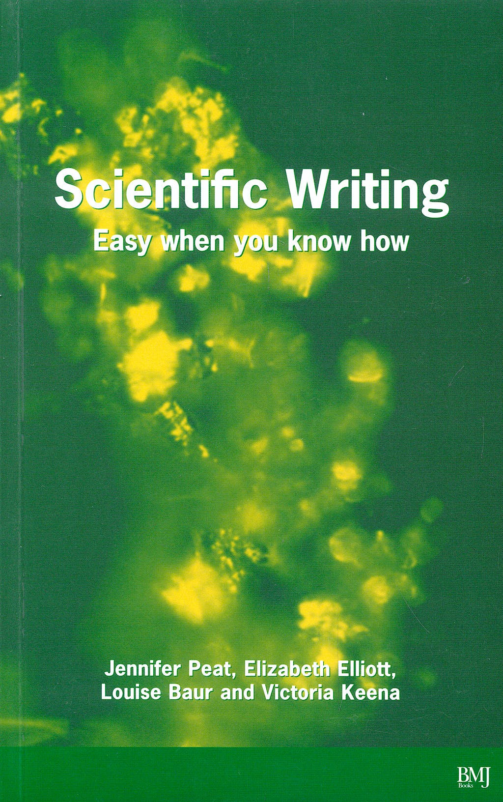 Portada del libro 9780727916259 Scientific Writing : Easy When You Know How