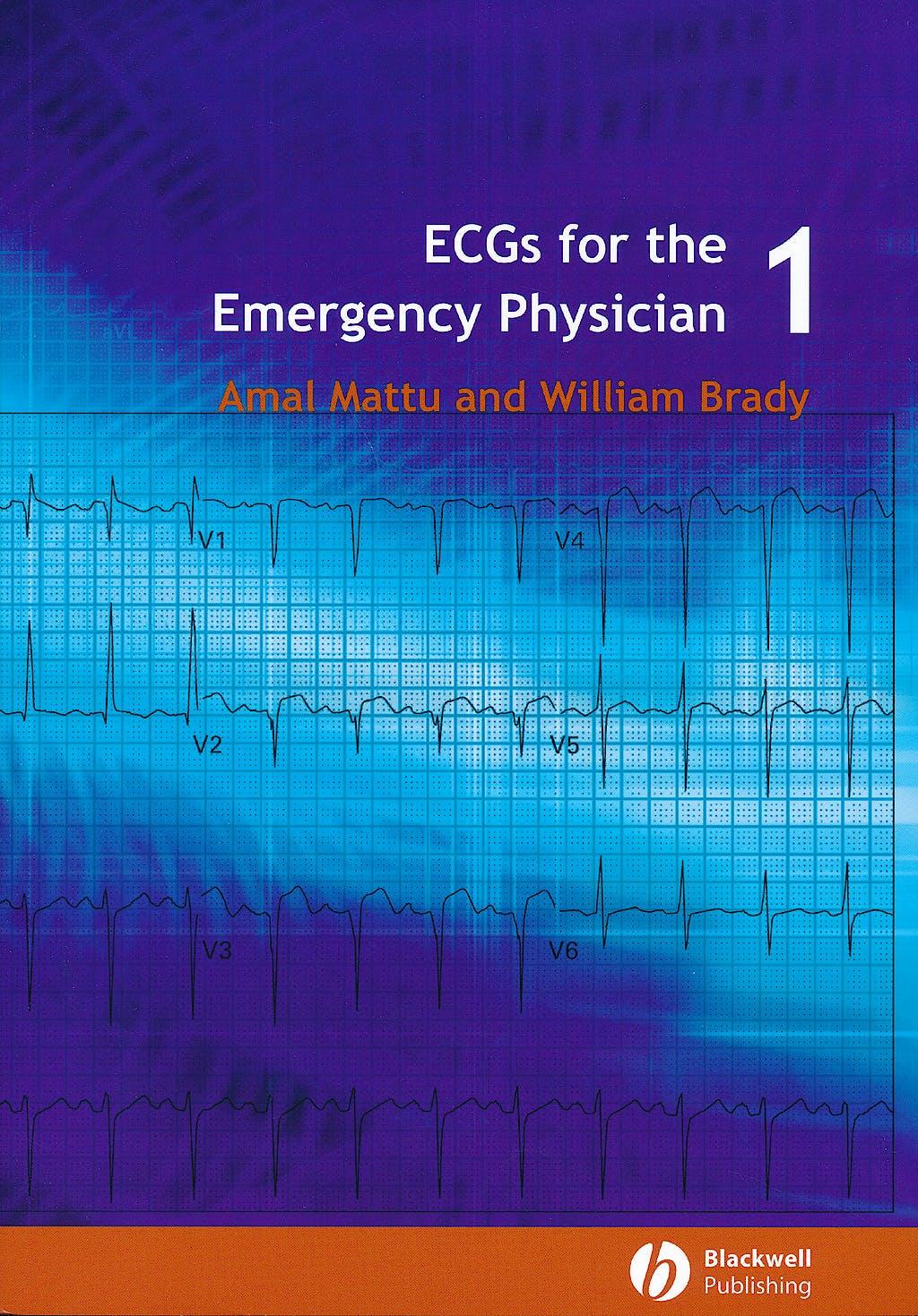 Portada del libro 9780727916549 Ecgs for the Emergency Physician 1