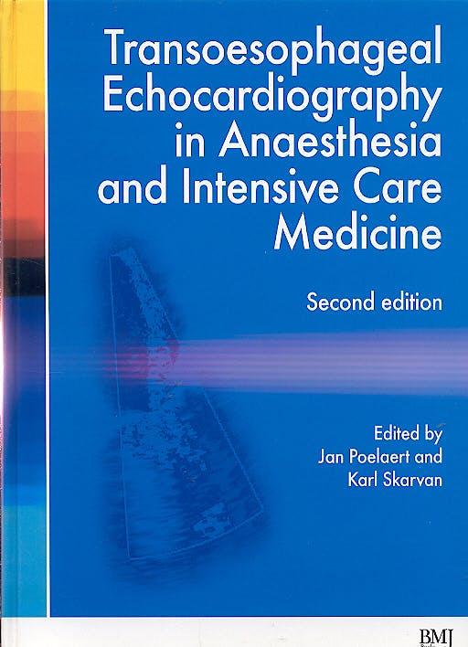 Portada del libro 9780727917966 Transoesophageal Echocardiography in Anaesthesia & Critical Care