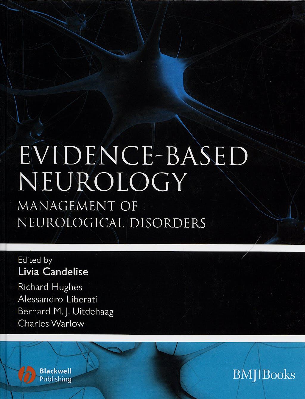 Portada del libro 9780727918116 Evidence-Based Neurology. Management of Neurological Disorders