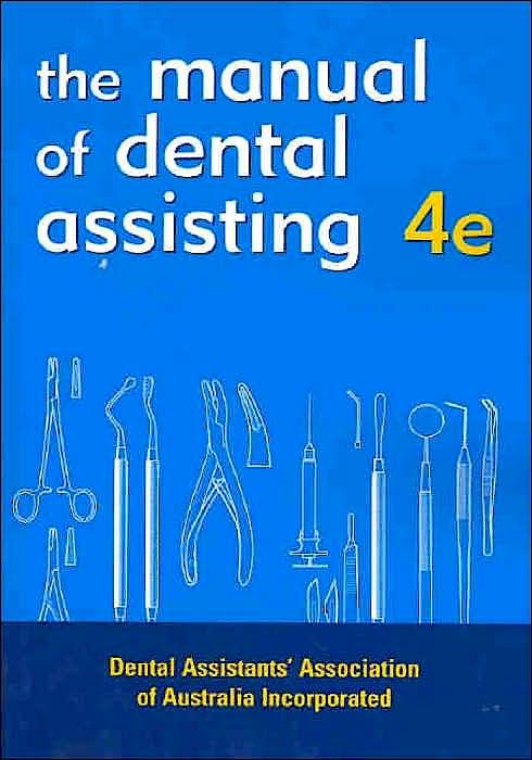Portada del libro 9780729537377 Dental Assistant's Manual