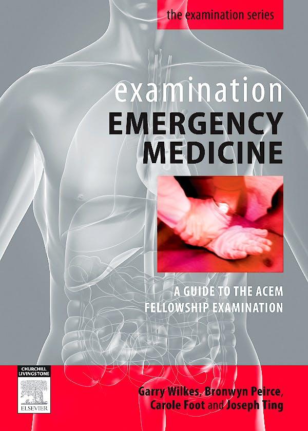 Portada del libro 9780729538961 Examination Emergency Medicine
